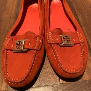 Tory Burch Kira Suede Driving Loafer